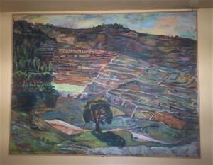 Tree on the Edge of Jerusalem, Michael Kovner, 1994