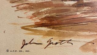 Signature of John Groth