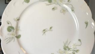 A. Lanternier Limoges France 2507 pattern - dinner plate