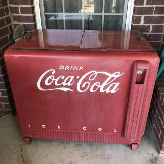 Vintage Coke box