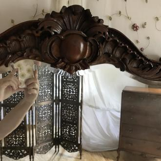 mirror matching desk/dressing table