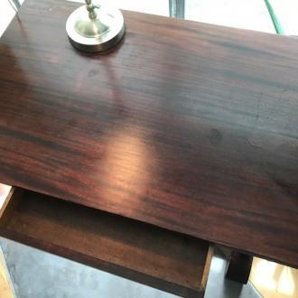 Antique Partners Desk (table desk) view 4
