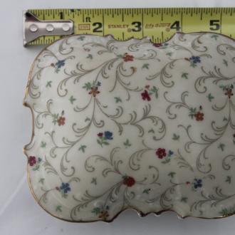 Limoges, porcelain covered trinket box