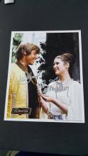 Carrie Fisher, Mark Hamill, Star Wars, Autograph